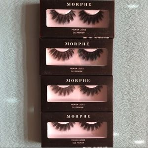 Morphe premium lashes in Soo Charming
